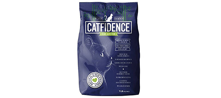 Catfidence Organic Bamboo Cat Litter