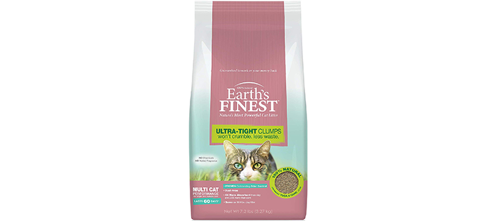 Earth's Finest Four Paws Earth's Finest Cat Litter