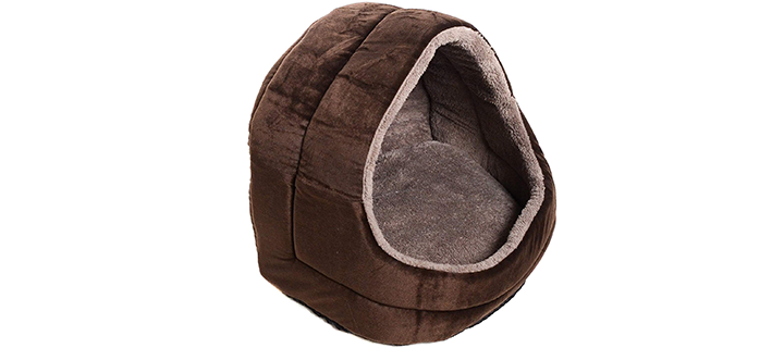 Milliard Dog House with Removable Cushion