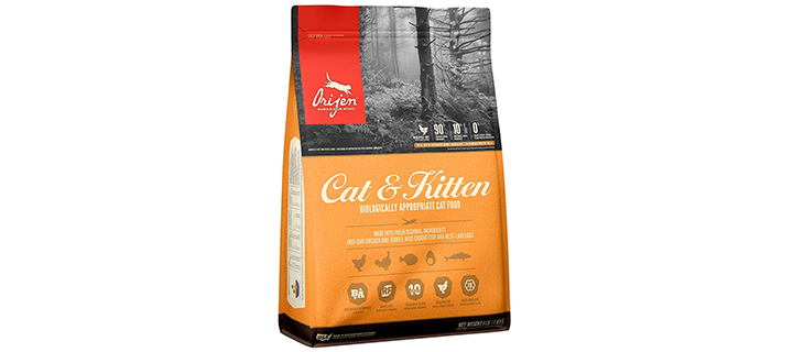 ORIJEN Cat & Kitten High-Protein Grain-Free