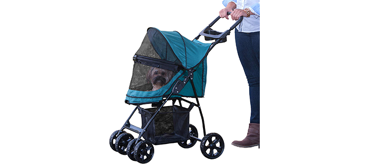 Pet Gear Happy Trails Stroller with No Zip Entry