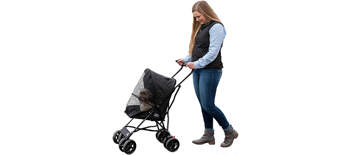Pet Gear Lightweight Travel Stroller for Cats