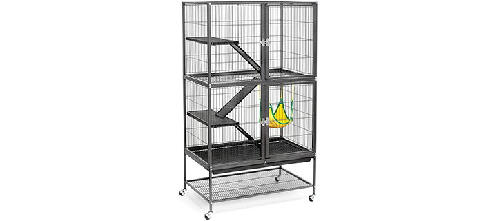 Prevue Hendryx Black Cage for Chinchillas