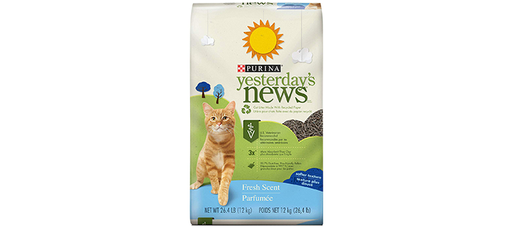 Purina Yesterday's News Fresh & Clean Scent