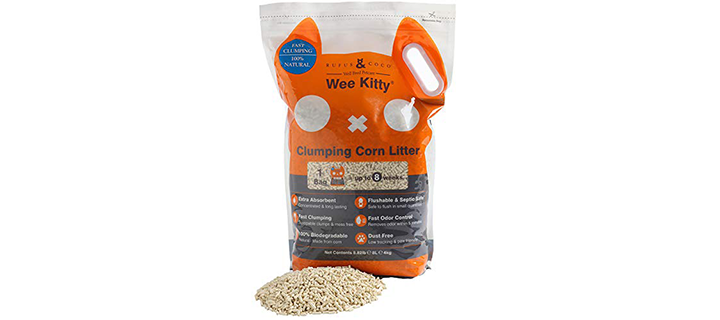 Rufus & Coco Ammonia-Free Flushable Cat Litter