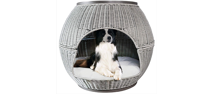 The Refined Canine Cocoon Shaped Dog House