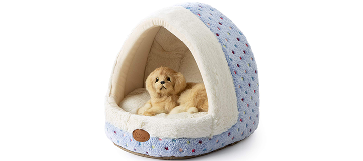 Tofern Warm and Non-Slipping Igloo Dog House