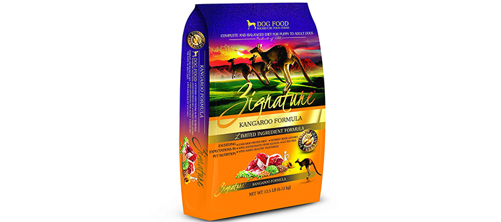Zignature Kangaroo High Protein Dog Food