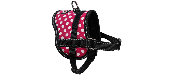 TOLEAP Reflective Strap Fitted Cat Harness